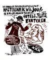 <b>35 | A/A |  De Vrije Zeefdrukker  - Amsterdam ik wil jou!! | &euro; 70 - 150</b>