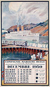 <h1>Louis Royon (1882-1968)</h1>Compagnie Maritime Belge Lloyd Royal, Calendar 1930<br /><b>57 | A- | Louis Royon (1882-1968) - Compagnie Maritime Belge Lloyd Royal, Calendar 1930 | &euro; 850 - 1250</b>