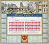 <h1>H.E. Roodenburg </h1>Douwe Egberts Calendar Nijmegen vóór 1940<br /><b>40 | B/B+ | H.E. Roodenburg  - Douwe Egberts Calendar Nijmegen vóór 1940 | € 80 - 150</b>