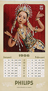 <h1> Anonymous </h1>Philips calendar 1956<br /><b>46 | A |  Anonymous  - Philips calendar 1956 | &euro; 80 - 140</b>