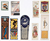 <h1> Various artists </h1>Collection of 6 book marks<br /><b>1049 | A-/B+ |  Various artists  - Collection of 6 book marks | € 60 - 150</b>