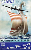 <h1>M. Cros </h1>Sabena, Nothern Air Express<br /><b>58 | B | M. Cros  - Sabena, Nothern Air Express | &euro; 180 - 350</b>
